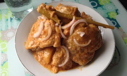 Creamy Chicken & Potato Rendang