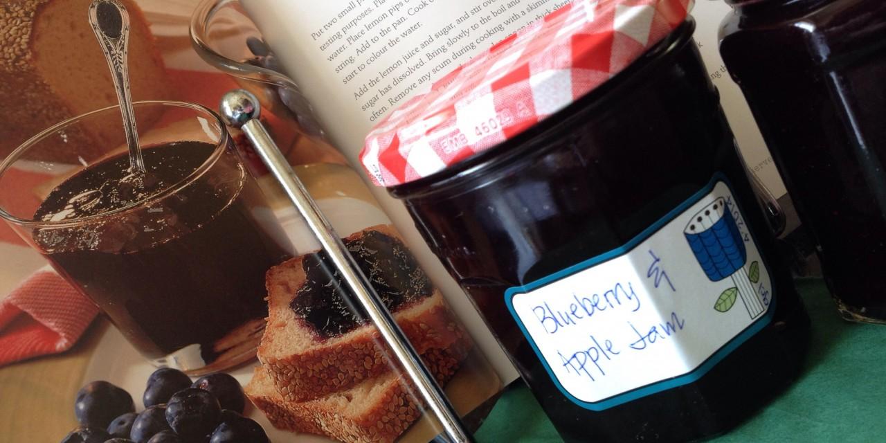 No-Pectin Blueberry & Apple Jam