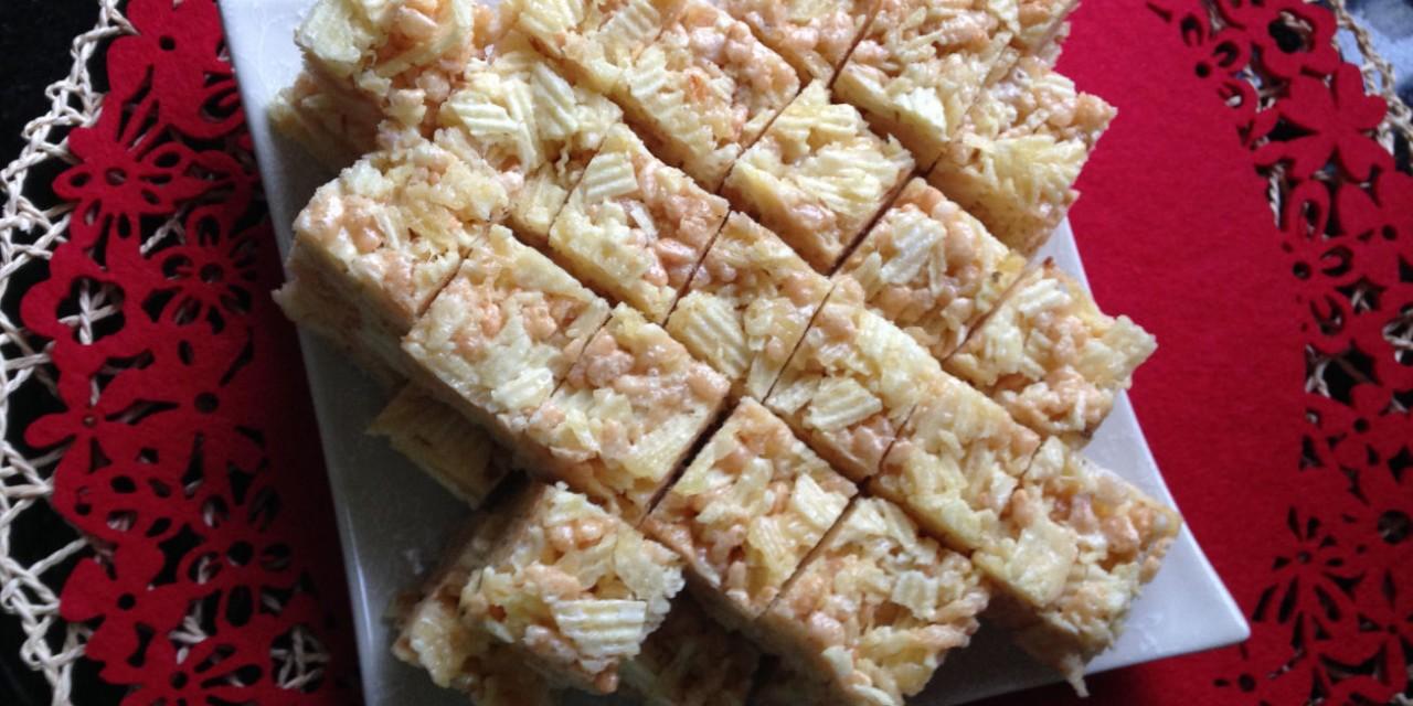 Marshmallow & Chips Krispie Treats