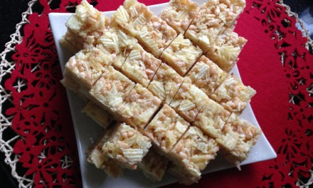 Marshmallow & Chips Krispie Treats
