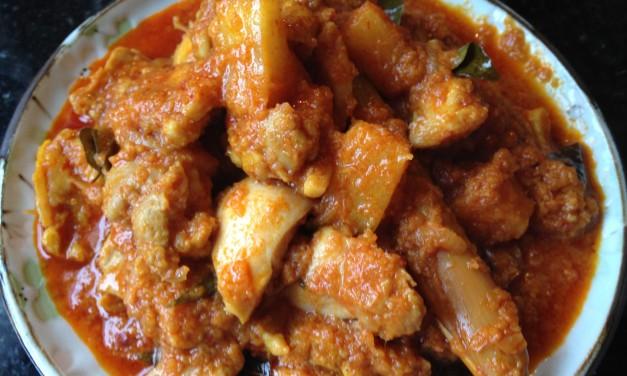 Ayam Masak Bali (Balinese-Style Chicken Curry)