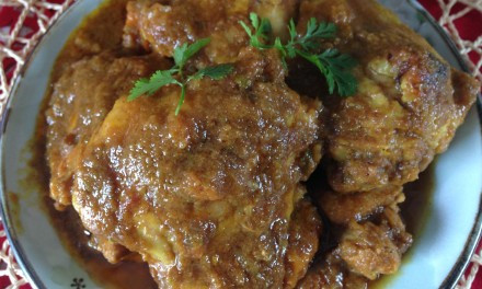 Amy's Spicy Nyonya Chicken