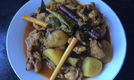 Curry Chicken, Indian-Style