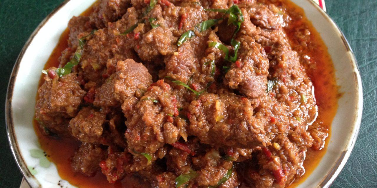 Beef Rendang ala Minang
