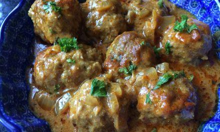 Meat Kofta Curry
