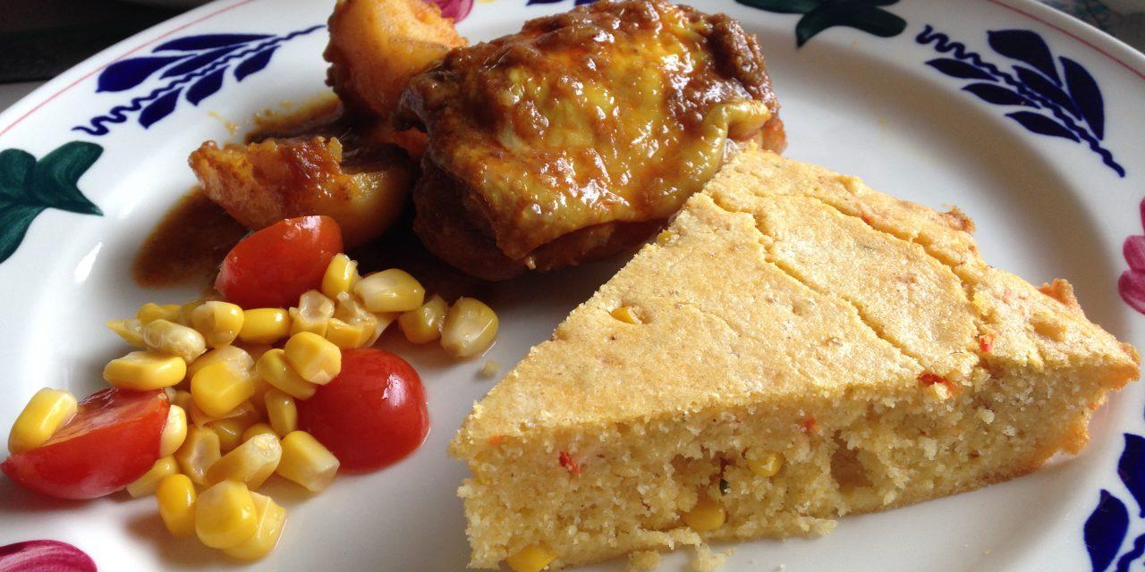 Gluten-free Chilli Cornbread