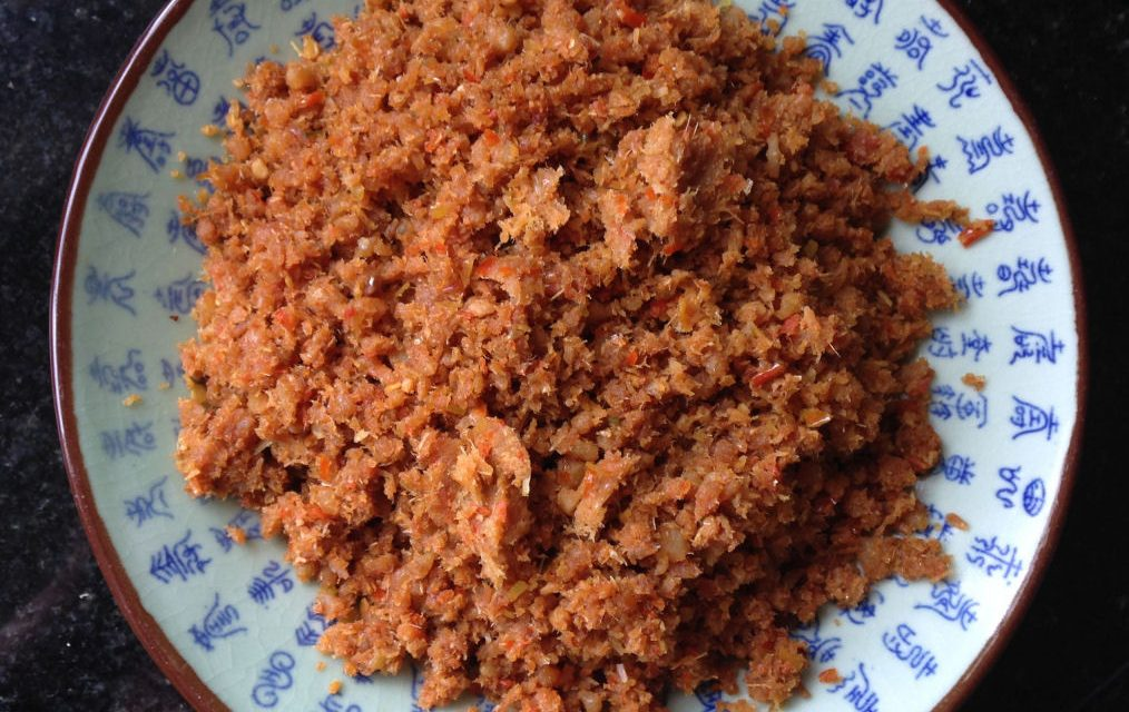 Sambal Hae Bee (Spicy Dried Shrimps or Udang Kering)