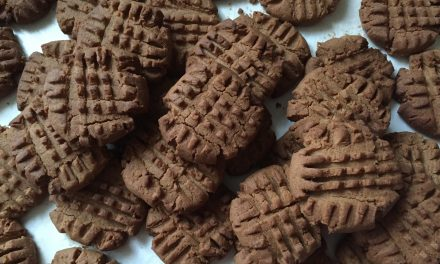 Crumbly Peanut Butter Cookies