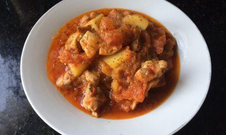 Chicken & Potato in Spicy Tomato Sauce