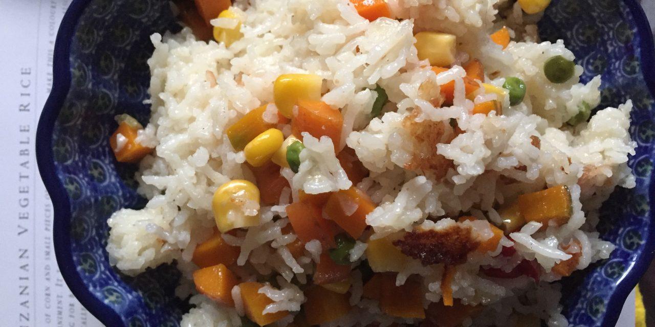 Tanzanian Vegetable Rice